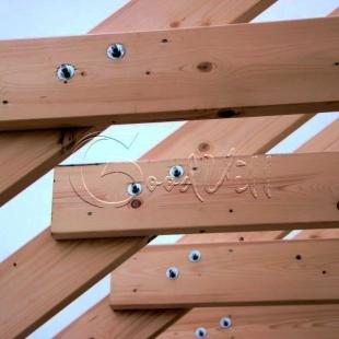 Метизы для каркасного дома. Применение специального крепежа при строительстве