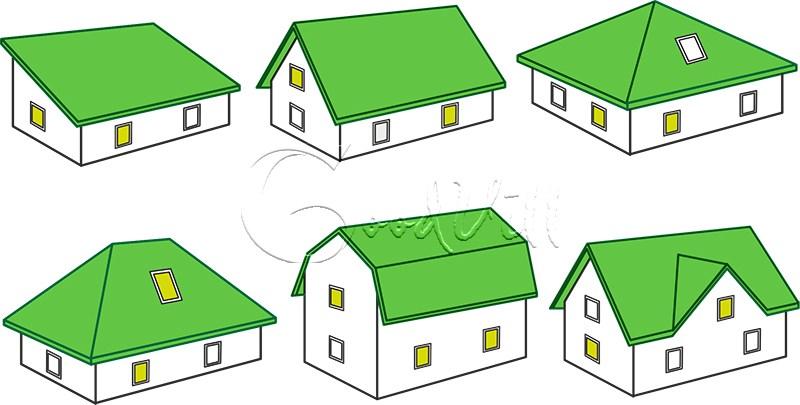 Крыши деревянных домов. Типы крыш