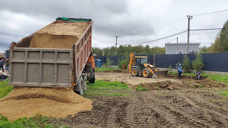 Разработка участка под утепленный финский фундамент