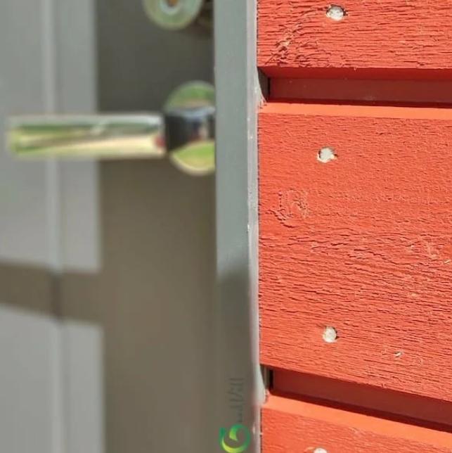 Обрамление окон и дверей на объекте