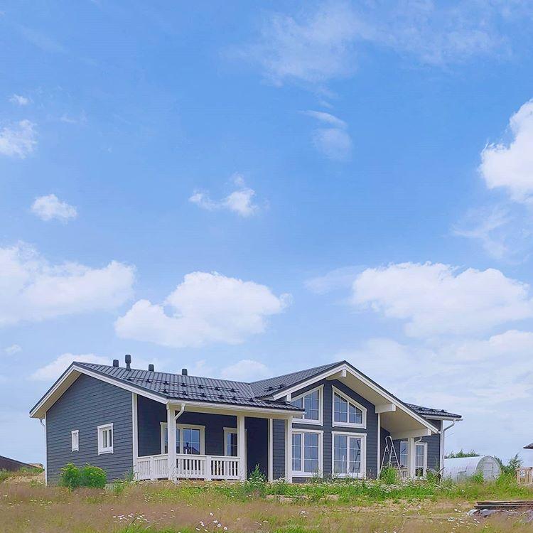 В скором будущем этот дом будет радовать своих хозяев 😍