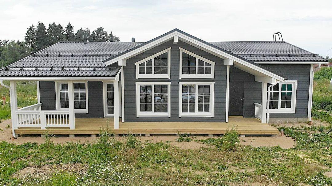 Ракурсы построенного дома